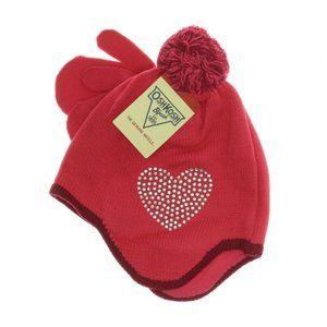 OshKosh B'gosh Girls Embellished Hat & Mittens Set